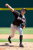 Jacob Petricka #17 of the Kannapolis Intimidators in action against the Charlotte Knights at Knights Stadium on April 3, 2011 in Fort Mill, South Carolina.    Photo by Brian Westerholt / Four Seam Images