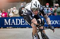 Giacomo Nizzolo (ITA/Qhubeka ASSOS)<br /> <br /> 104th Giro d'Italia 2021 (2.UWT)<br /> Stage 1 (ITT) from Turin to Turin (8.6 km)<br /> <br /> ©kramon