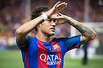 FC Barcelona's forward Neymar Santos Jr after Copa del Rey (King's Cup) Final between Deportivo Alaves and FC Barcelona at Vicente Calderon Stadium in Madrid, May 27, 2017. Spain.<br /> (ALTERPHOTOS/BorjaB.Hojas)