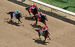 September 4, 2020: Sconsin, #5, ridden by jockey James Graham wins the Eight Belles on Kentucky Oaks Day at Churchill Downs in Louisville, Kentucky. John Voorhees/Eclipse Sportswire/CSM