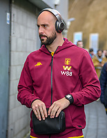 Pepe Reina Goalkeeper of Aston Villa (29) arriving before during the Premier League match between Brighton and Hove Albion and Aston Villa at the American Express Community Stadium, Brighton and Hove, England on 18 January 2020. Photo by Edward Thomas / PRiME Media Images.