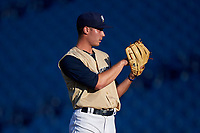 AZL Brewers Gold starting pitcher Joey Matulovich (21) during an Arizona League game against the AZL Brewers Blue on July 13, 2019 at American Family Fields of Phoenix in Phoenix, Arizona. The AZL Brewers Blue defeated the AZL Brewers Gold 6-0. (Zachary Lucy/Four Seam Images)
