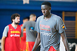 Diop during the training of Spanish National Team of Basketball. August 07, 2019. (ALTERPHOTOS/Francis González)