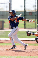 Arnal Cristo, Cleveland Indians 2010 minor league spring training..Photo by:  Bill Mitchell/Four Seam Images.