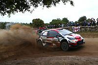 5th June 2021; Monte Acuto, Sardinia; WRC rally of Italia Sardinia; Sebastien Ogier-Toyota Yaris WRC