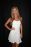 MIAMII BEACH, FL - JULY 19:  Model Nina Agdal at the Beach Bunny show during Mercedes-Benz Fashion Week Swim 2014 at Cabana Grande at the Raleigh on July 19, 2013 in Miami, Florida. <br />