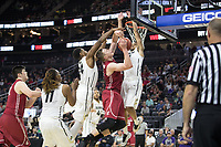 LAS VEGAS, NV - March 8, 2017: Washington State Cougars vs. the Colorado Buffaloes.  Final Score: Washington State 63, Colorado Buffaloes 73