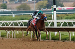 """DEL MAR, CA  AUGUST 21: #1 Tripoli, ridden by Tiago Pereira, and #2 Tizamagician, ridden by Flavien Prat, battle in the stretch of the TVG Pacific Classic (Grade l) Breeders Cup """"Win and You're In"""" Classic Division on August 21, 2021 at Del Mar Thoroughbred Club in Del Mar, CA. (Photo by Casey Phillips/Eclipse Sportswire/CSM)"""