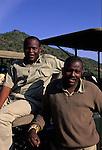 Two men in Africa