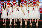"""OH MY GIRL, July 1, 2019 : K-pop girls group OH MY GIRL attends """"M-ON! X OH MY GIRL Special Event"""" in Tokyo, Japan on July 1, 2019. (Photo by Pasya/AFLO)"""