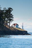 Turn Point Lighthouse, Stuart Island, Washington, US