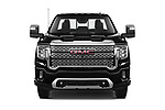 Car photography straight front view of a 2020 GMC Sierra Denali 4 Door Pick-up Front View