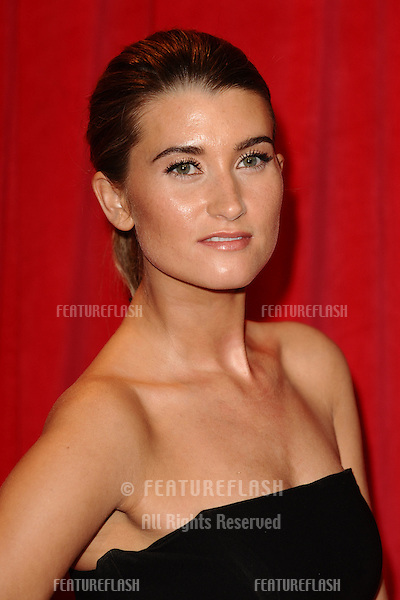 Charley Webb arriving for the 2014 British Soap Awards, at the Hackney Empire, London. 24/05/2014 Picture by: Steve Vas / Featureflash