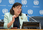 Press Conference by Ms. Virginia Gamba, Special Representative of the Secretary-General for Children and Armed Conflict