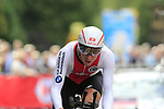Claudio Imhof (SUI) in action during the Men Elite Individual Time Trial of the UCI World Championships 2019 running 54km from Northallerton to Harrogate, England. 25th September 2019.<br /> Picture: Eoin Clarke | Cyclefile<br /> <br /> All photos usage must carry mandatory copyright credit (© Cyclefile | Eoin Clarke)
