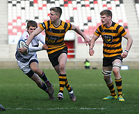 Tuesday 3rd March 2020 | RSA vs RBAI<br /> <br /> Hugo Ellerby during the Ulster Schools' Cup Semi-Final between Royal School Armagh and RBAI at Kingspan Stadium, Ravenhill Park, Belfast, Northern Ireland. Photo by John Dickson / DICKSONDIGITAL