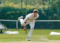 21st September 2021; Aigburth, Merseyside, England; County Championship Cricket, Lancashire versus Hampshire, Day 1; Jack Blatherwick of Lancashire bowling