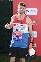 Joel Dommett<br /> at the start of the 2018 London Marathon, Greenwich, London<br /> <br /> ©Ash Knotek  D3397  22/04/2018