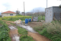 COPY BY TOM BEDFORD<br /> Pictured: The area where the remains of a body have been discovered in Malia, Creete, Greece. Friday 17 February 2017<br /> Re: Police have found the remains of the body in a well near a cemetery in Malia, on the Greek island of Crete with local news outlets speculating that it maybe that of 20 year old Briton Steven Cook who went missing on the 1st of September 2005. A disposable camera and a belt were reportedly found next to the remains.