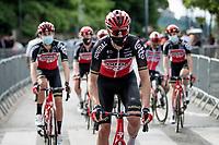 at the race start in Saint-Martin-le-Vinoux<br /> <br /> 73rd Critérium du Dauphiné 2021 (2.UWT)<br /> Stage 7 from Saint-Martin-le-Vinoux to La Plagne (171km)<br /> <br /> ©kramon
