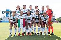 Bradenton, FL - Friday, June 08, 2018: Mexico Starting XI during a U-17 Women's Championship match between Mexico and Haiti at IMG Academy.
