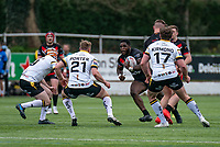 Titus Gwaze of London Broncos during the Betfred Challenge Cup match between London Broncos and York City Knights at The Rock, Rosslyn Park, London, England on 28 March 2021. Photo by Liam McAvoy.