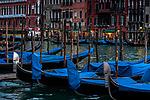 Gondolas, Venice, Veneto, Italy<br /> <br /> Canon EOS-1Ds Mark II, EF70-200mm f/4 lens, f/5.6 for 1/25 second, ISO 400