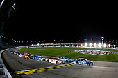 Monster Energy NASCAR Cup Series<br /> Go Bowling 400<br /> Kansas Speedway, Kansas City, KS USA<br /> Saturday 13 May 2017<br /> Martin Truex Jr, Furniture Row Racing, Auto-Owners Insurance Toyota Camry, Kevin Harvick, Stewart-Haas Racing, Busch Light Ford Fusion and Ryan Blaney, Wood Brothers Racing, Motorcraft/Quick Lane Tire & Auto Center Ford Fusion restart<br /> World Copyright: Russell LaBounty<br /> LAT Images<br /> ref: Digital Image 17KAN1rl_5851