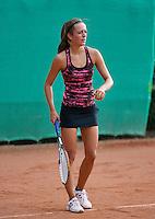 12-08-13, Netherlands, Raalte,  TV Ramele, Tennis, NRTK 2013, National RankingTennis Championships 2013,  Tiffany Hoberth<br /> <br /> Photo: Henk Koster