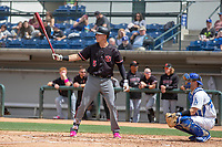 Arizona Diamondback Jake Lamb (5) on rehab assignment playing for the Visalia Rawhide at bat against the Rancho Cucamonga Quakes at LoanMart Field on May 13, 2018 in Rancho Cucamonga, California. The Quakes defeated the Rawhide 3-2.  (Donn Parris/Four Seam Images)