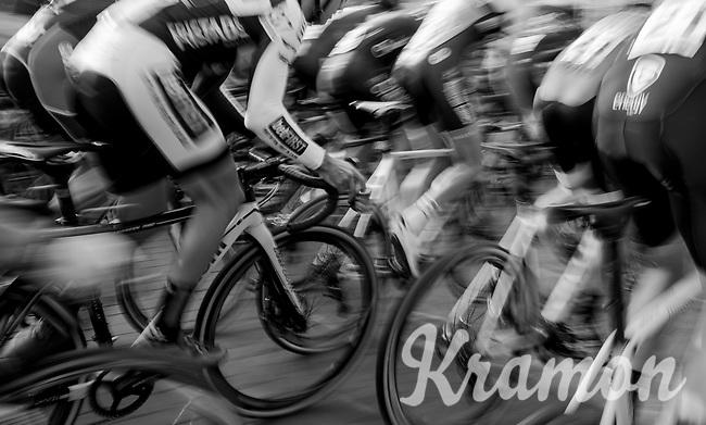 speeding off the start line<br /> <br /> Super Prestige Ruddervoorde / Belgium 2017