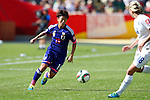 Saori Ariyoshi (JPN), JULY 1, 2015 - Football / Soccer : FIFA Women's World Cup Canada 2015 Semi-final match between Japan 2-1 England at Commonwealth Stadium in Edmonton, Canada. (Photo by AFLO)