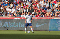 SANDY, UT - JUNE 10: Sebastian Lletget #17 of the United States looks for an open man downfield during a game between Costa Rica and USMNT at Rio Tinto Stadium on June 10, 2021 in Sandy, Utah.