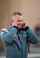 Jul 19, 2019; Morrison, CO, USA; NHRA top fuel driver Richie Crampton during qualifying for the Mile High Nationals at Bandimere Speedway. Mandatory Credit: Mark J. Rebilas-USA TODAY Sports