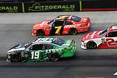 #19: Brandon Jones, Joe Gibbs Racing, Toyota Camry Juniper, #7: Justin Allgaier, JR Motorsports, Chevrolet Camaro BRANDT Professional Agriculture