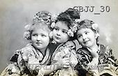 Jonny, CHILDREN, nostalgic, paintings(GBJJ30,#K#) Kinder, niños, nostalgisch, nostálgico
