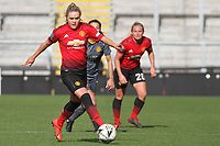 Charlie Devlin (Manchester United Women) during the English Womens Championship match between Manchester United Women and Leicester City Women at Leigh Sports Village, Leigh, England on 10 March 2019. Photo by James Gill / PRiME Media Images.