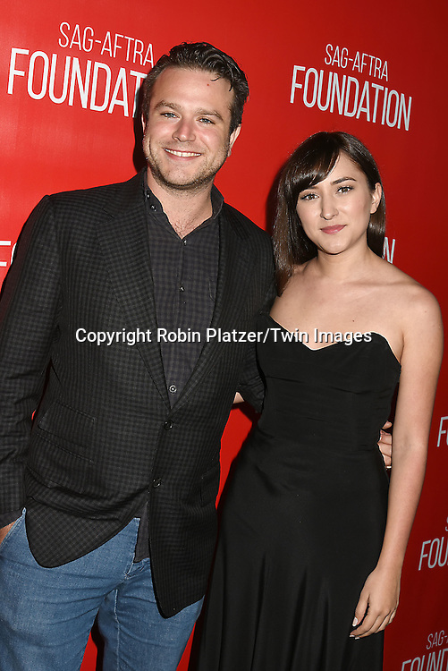 Zach Williams and sister Zelda Williams attend the Grand Opening of SAG-AFTRA Foundation Robin Williams Center on October 5, 2016 at The Robin Williams Center in New York, New York, USA.<br /> <br /> photo by Robin Platzer/Twin Images<br />  <br /> phone number 212-935-0770