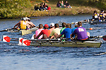 Boston, Rowing, 2006 Head of the Charles Regatta, Charles River, Cambridge, Massachusetts, USA, Collegiate Eights Men,