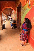 south America, Guatemala. Chichicastenango, portico