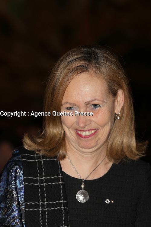 Monique Leroux<br /> , avril 2016<br /> <br /> PHOTO : Agence Quebec Presse