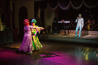 Kashi, Xinjiang Province, May 2014 - Ballroom dance