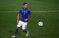 Italy's Lorenzo Pellegrini in action during the UEFA Nations League football match between Italy and Netherlands at Bergamo's Atleti Azzurri d'Italia stadium, October 14, 2020.<br /> UPDATE IMAGES PRESS/Isabella Bonotto