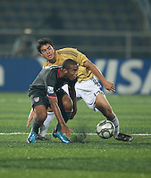 Stefan Jerome. Spain defeated the U.S. Under-17 Men National Team  2-1 at Sani Abacha Stadium in Kano, Nigeria on October 26, 2009.