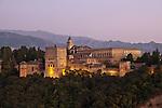 Alhambra, Granada (Stadt), Andalusien, Spanien