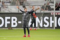 Torwart/Goalie Kevin Trapp (Deutschland Germany), Torwart/Goalie Manuel Neuer (Deutschland Germany) - Stuttgart 05.09.2021: Deutschland vs. Armenien, Mercedes-Benz Arena Stuttgart