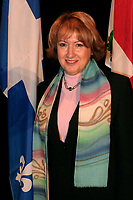 February 16 2006, Montreal (Qc) CANADA<br /> Francoise Gauthier, Quebec Minister of Tourism, Minstre Tourisme Quebec<br /> Photo : Pierre Roussel / Images Distribution