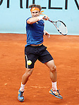 David Ferrer, Spain, during Madrid Open Tennis 2016 match.May, 4, 2016.(ALTERPHOTOS/Acero)