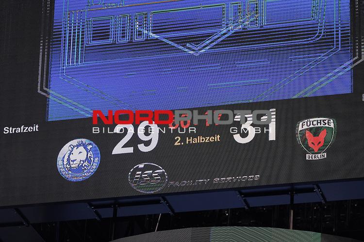21.11.2020, ISS Dome, Duesseldorf,  GER, 1. HBL. Herren, BHC vs. Fuechse Berlin, <br /><br />im Bild / picture shows: <br />Endstand 29:31<br /><br />Foto © nordphoto / Meuter