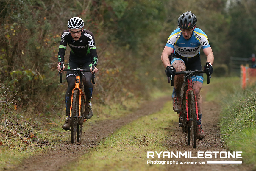 EVENT:<br /> Round 5 of the 2019 Munster CX League<br /> Drombane Cross<br /> Sunday 1st December 2019,<br /> Drombane, Co Tipperary<br /> <br /> CAPTION:<br /> John Collins of Revolution Cycling Club in action during the A Race - M40<br /> <br /> Photo By: Michael P Ryan
